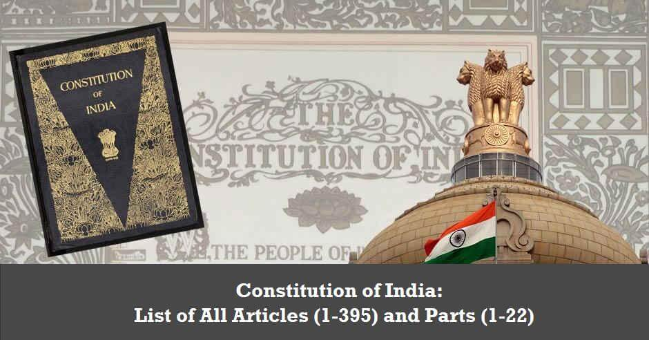 Indian Constitution and Politics: Basic Features and Governmental Structures