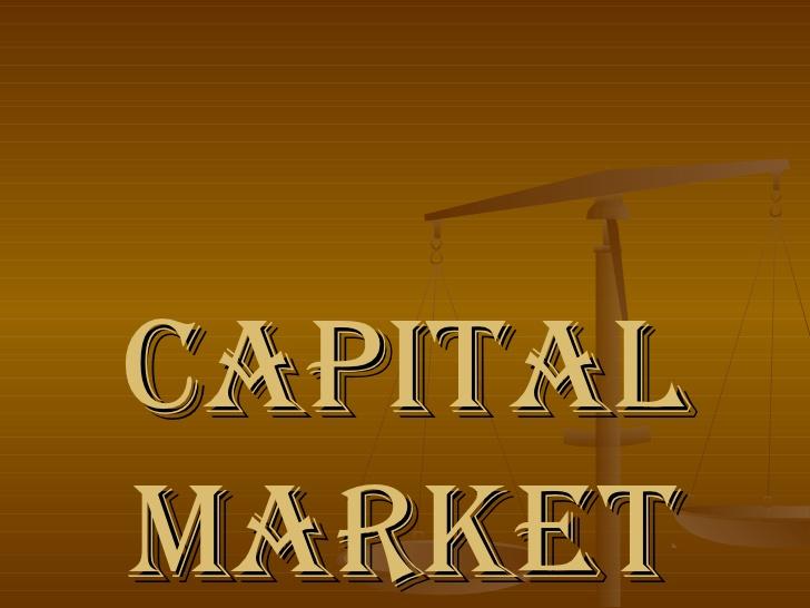 Economics of Capital Market